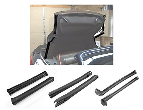 1994-2000 Mustang Convertible Front Center & Rear Side Rail Weatherstrip Seals