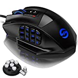 UtechSmart Venus Gaming Mouse RGB Wired, 16400 DPI High Precision...