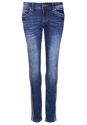 Blue Monkey Damen Jeans Laura 10410 Applikationen