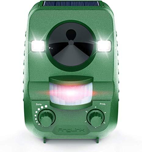 AngLink Solar katzenschreck Ultraschall abwehr mit Tiervertreiber Ultraschall Tierschreck Wasserdicht Abwehr Hundeschreck Marderabwehr vogelabwehr-2020