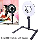 8-inch LED Selfie Ring Light for...