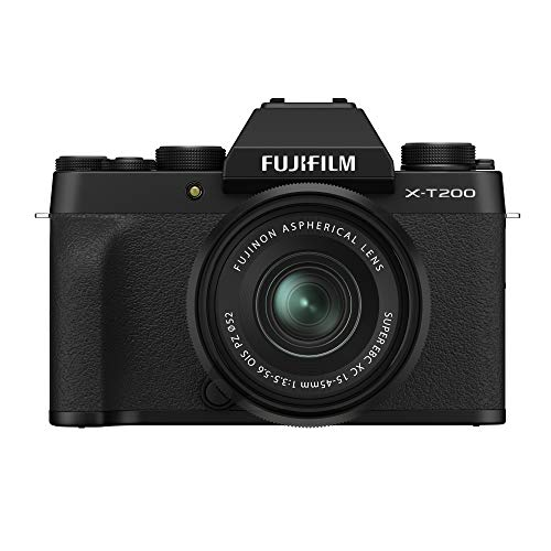 Fujifilm Digital FUJIFILM X-T200 Appareil Photo numérique avec XC15-45 mm F3.5-5.6 OIS PZ Kit