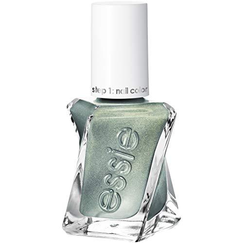 essie Gel Couture 2-Step Longwear Nail Polish, Spellbound, Green Metallic Nail Polish, 0.46 fl. oz.