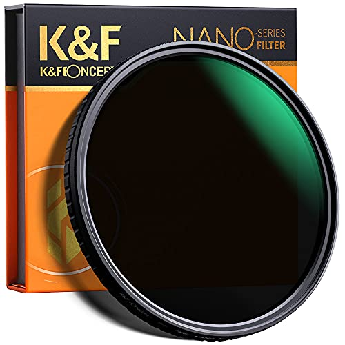 K&F Concept 82mm Fader ND Filter Neutral Density Variable Filter...