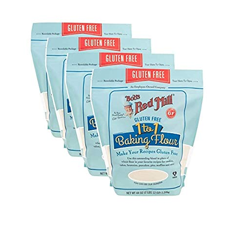 Bob's Red Mill Resealable Gluten Free 1-to-1 All Purpose Baking Flour