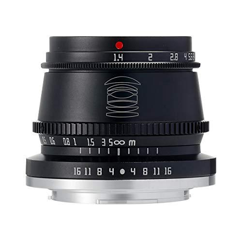 【国内正規品】銘匠光学 TTArtisan 35mm f/1.4 C (ニコンZ, ブラック) 「2年保証付」