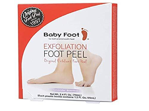 Baby Foot - Original Foot Peel Exfoliator - Fresh Lavender Scent Pair - Foot Mask