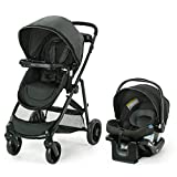 Graco Modes Element Travel System, Includes Baby Stroller with Reversible Seat, Extra Storage, Child Tray and SnugRide 35 Lite LX Infant Car Seat, Canter
