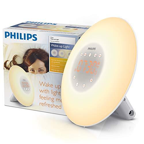 Philips SmartSleep HF3500/60 Wake-Up Light Therapy Alarm...
