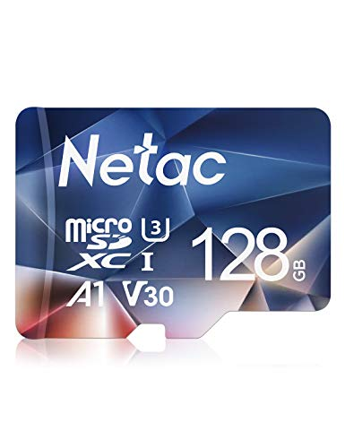 Netac 128G Scheda Micro SD, Scheda di Memoria A1, U3, C10, V30, 4K, 667X, UHS-I velocit Fino a...