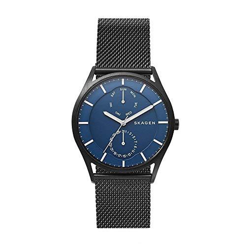 Skagen Herren Multi Zifferblatt Quarz Uhr mit Edelstahl Armband SKW6450
