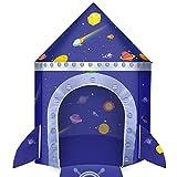 Tente de jeu pour enfants sur le thème fusée