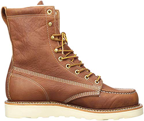 Thorogood Men's American Heritage 8' Moc Toe, MAXwear Wedge Non-Safety Toe Boot