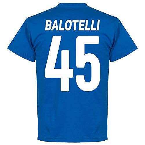 Brescia Balotelli 45 Team - Maglietta Royal, Uomo, Blu Reale, XXXL