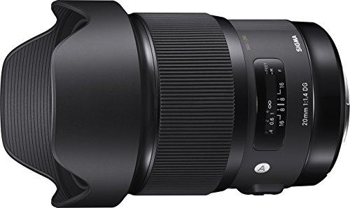SIGMA 単焦点レンズ Art 20mm F1.4 DG HSM キヤノン用 フルサイズ対応