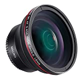 Neewer 52 mm 0,43 X HD Objectif Grand Qngle avec Macro Close-up Portion...