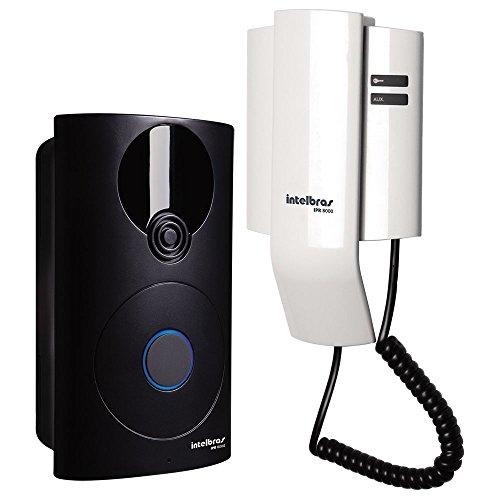 Porteiro Residencial, Intelbras, IPR 8000, Preto/Branco
