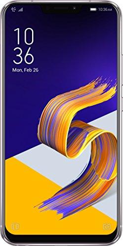 Asus Zenfone 5 ZE620KL Smartphone portable débloqué 4G (Ecran: 6.2 pouces - 4 Go RAM - 64 Go ROM - Double SIM - Android 8) Argent