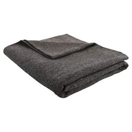 JMR Grey 62x80 Military Wool Blanket for Emergency ,Camping & Everyday Use (Grey)