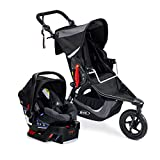 BOB Revolution Flex 3.0 and B-Safe 35 Travel System, Graphite Black [Old Version]