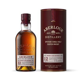 Aberlour 12 Year Old Single Malt Scotch Whisky, 70 cl (Double Oak Cask)