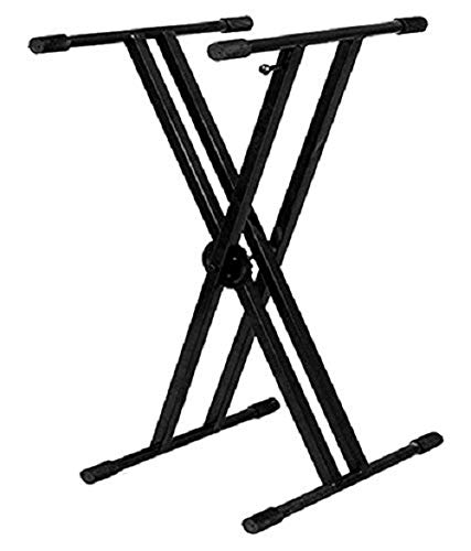Blueberry Adjustable Heavy Duty Double Braced keyboard stand