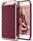 Caseology Parallax for Apple iPhone 6S Plus Case (2015) / for iPhone 6 Plus Case (2014) - Burgundy