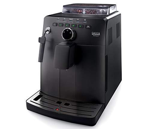 Navaglio Automatic Espresso Coffee Maker, 220 V, Black, GAGGIA