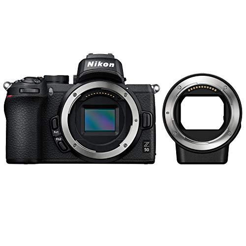 Nikon ミラーレス一眼カメラ Z50 ボディ + Nikon マウントアダプターFTZ Zマウント用 Fマウント用