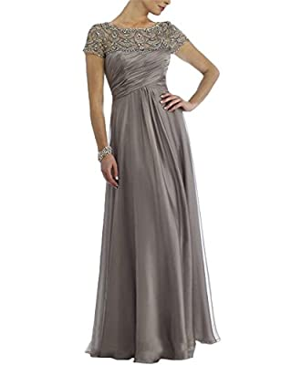 Material: chiffon, satin. Embellishment: rhinestones, crystals. Please check the size chart when you order the dress, if the size cannot fit you very well, please contact us, we can custom made it for you. Customized size and color are also available...