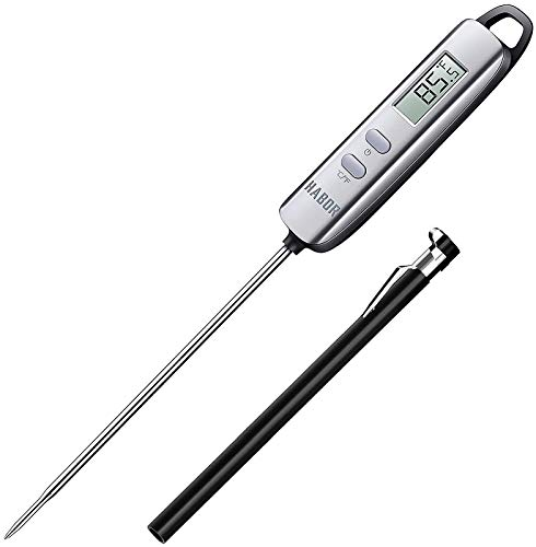 Meat Thermometer, Habor Instant Read Thermometer Cooking Thermometer Candy Thermometer