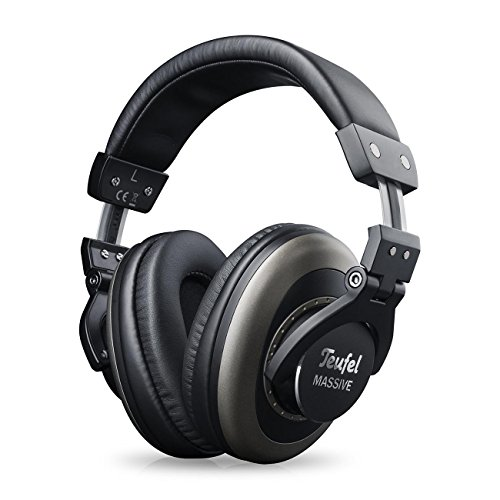 Teufel Massive Schwarz Kopfhörer Musik Stereo Headphones Sound Klinke Earphones