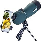 25-75x70 Longue-Vue avec Trépied, Prisme BAK4 portée pour Observation des Oiseaux,Observation des...