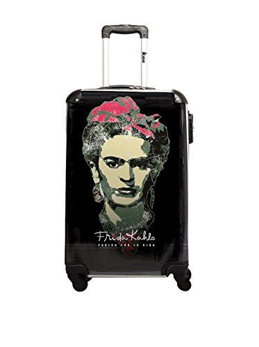 Frida Kahlo Trolley rígido LIC Negro 50 cm