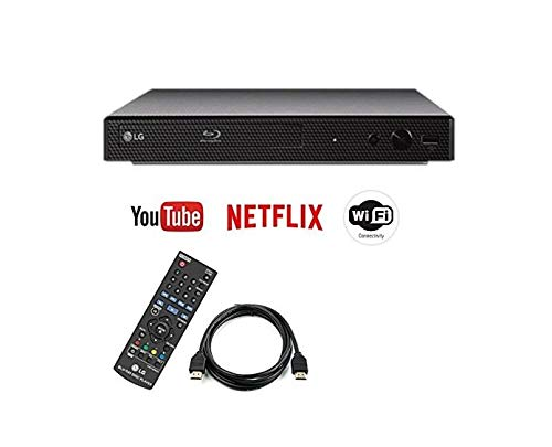 (Renewed) LG BPM35 / BP350 Blu-ray Disc Player with Streaming Services and Built-in Wi-Fi, 6FT HDMI Cable Included