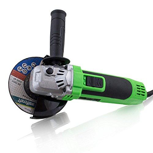 BITUXX® 650 Watt Winkelschleifer Schleifer Schleifmaschine Trennschleifer Trennjäger 115/125 mm