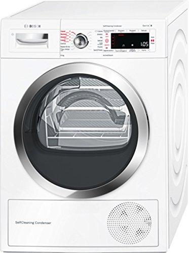 Bosch Serie 8 WTW855R8IT Asciugatrice (Libera installazione Carico frontale 8kg A++, tumble dryer),...