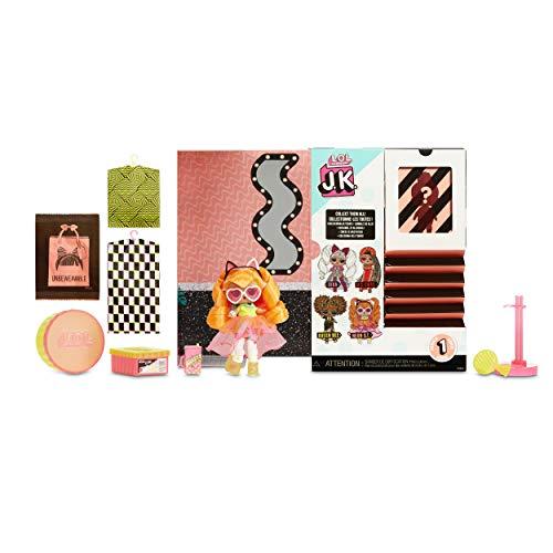Image 1 - LOL Surprise Mini Poupées Mannequin JK - 15 Surprises, Vêtements et Accessoires - À Collectionner - Neon Q.T.