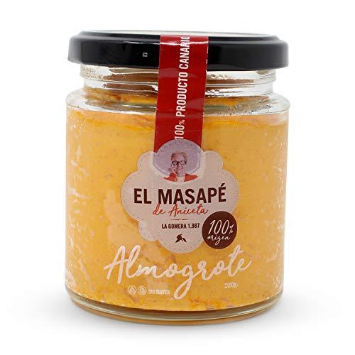 Almogrote gomero EL MASAPÉ 220 gr. Producto Islas Canarias.
