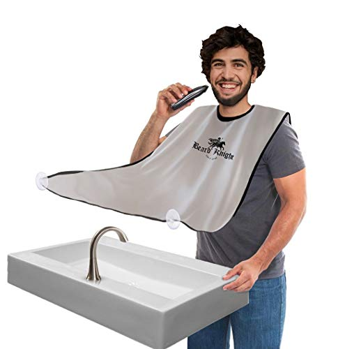 Beard Apron I Hair Clippings Catcher with Bag I Grooming...
