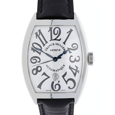 Franck Muller Cintree Curvex Mechanical(Automatic) Silver Dial Watch 8880 B SC DT AC (Pre-Owned)