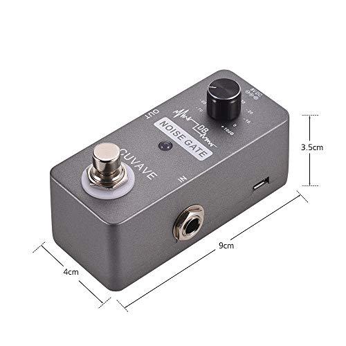 Bedler NOISE GATE Noise Reduction Guitar Effect Pedal Zinc Alloy Shell True Bypass