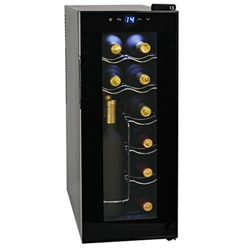 Festnight Cantinetta per Vini Frigo Bar 35/48 L 12/16 Bottiglie Display a LCD