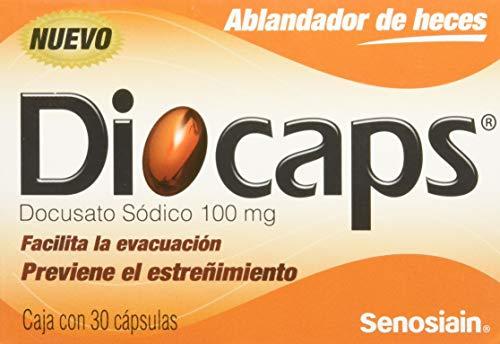 Diocaps Laxantes, 30 Cápsulas