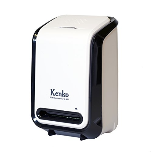 【Amazon.co.jp限定】Kenko カメラ用アクセサリ フィルムスキャナー 517万画素 Windows10対応 KFS-500WHBK