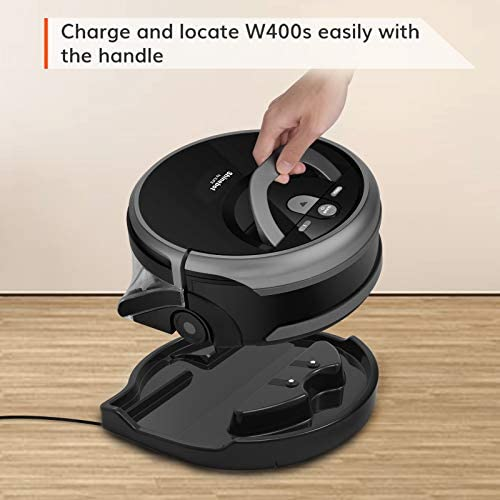 ILIFE Shinebot W400s, Mopping Robot, Wet Scrubbing, Floor Washing Robot, XL Water Tank, Zig-Zag Path, Ideal for Hard Floor 15