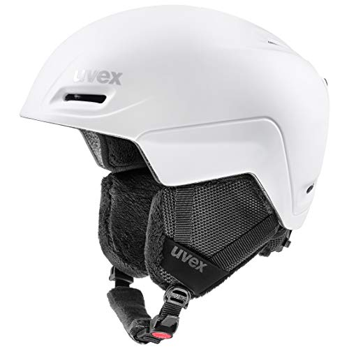 uvex Unisex– Erwachsene, jimm Skihelm, white mat, 59-61 cm