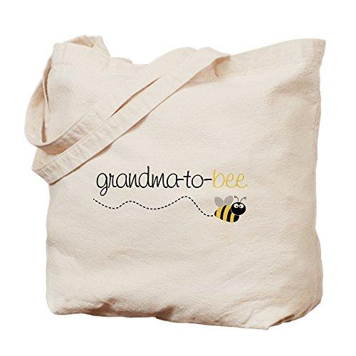 CafePress Grandma To Bee Tote Bag Natural Canvas Tote Bag,...