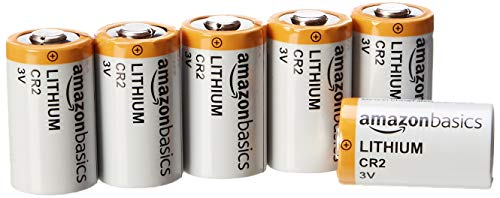 AmazonBasics Lithium CR2 3 Volt Batteries - Pack of 6