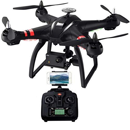 WXGZS Droni, Doppio GPS WiFi Brushless Follow Me Elicotteri da Corsa di Telecomando RC Drone Dron Giocattoli
